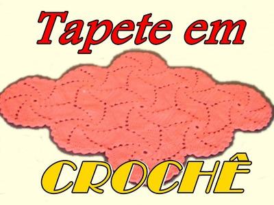 TAPETE EM CROCHÊ-SPIRAL PARTE II