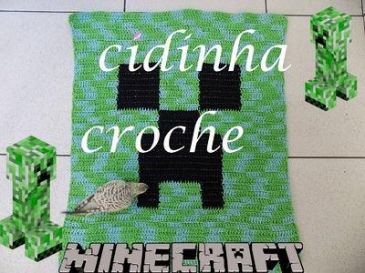 Croche-Tapete Creeper- Passo A Passo- Parte 2.2