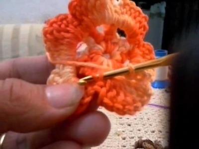 Flor para aplicação de tapetes