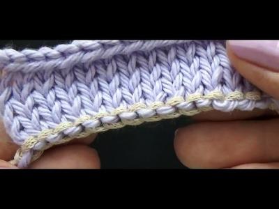 Montagem Provisória com correntinha de crochê {Tricota Curitiba}