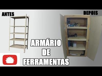Como fazer Armário de ferramentas - DIY | Na oficina S02E32