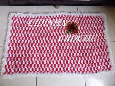 Croche - Passadeira Natalina- Passo A Passo- Tutorial Completo