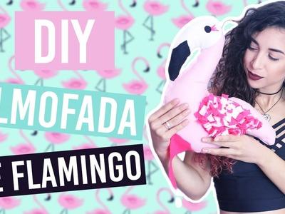 DIY: Almofada Decorativa de Flamingo