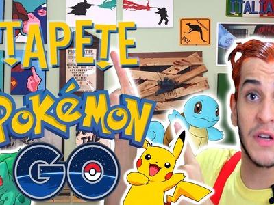 TAPETE DE POKÉMON GO | Projeto #NãoéCópia  | Victor Lamoglia
