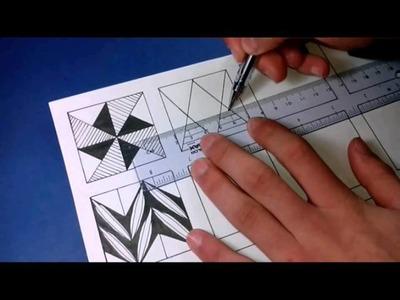 12 patterns for doodling