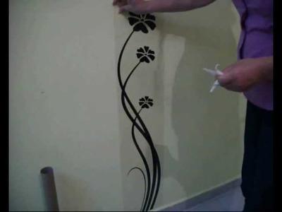 Adesivos de parede decorativos,decoração de casa,adesivos de parede,como aplicar,decoração casa