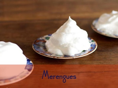 Como fazer merengue italiano, suíço e francês (receita de merengue italiano, suíço e francês)