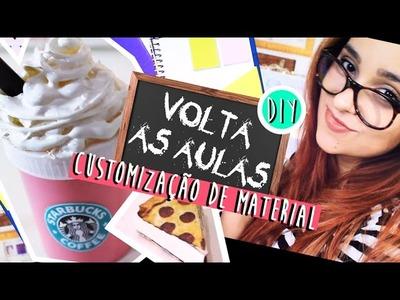 DIY: VOLTA ÀS AULAS | COMO REAPROVEITAR E CUSTOMIZAR O MATERIAL ESCOLAR - O Blog da Ka ♥