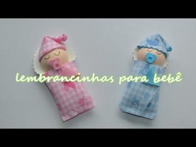Lembrancinha maternidade e chá de bebê em E.V.A