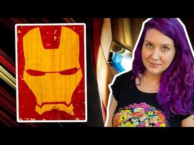 Quadro do Homem de Ferro (Iron Man) - DIY Geek