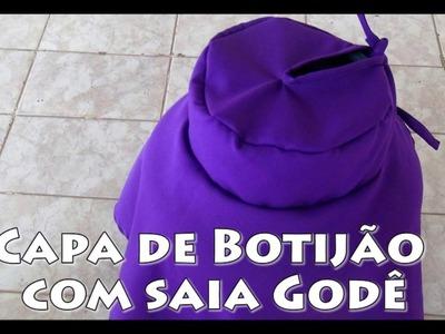 CAPA DE BOTIJÃO COM SAIA GODÊ