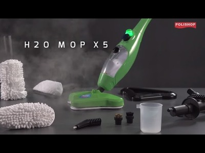 Vaporizador H2o Mop - Tutorial de limpeza