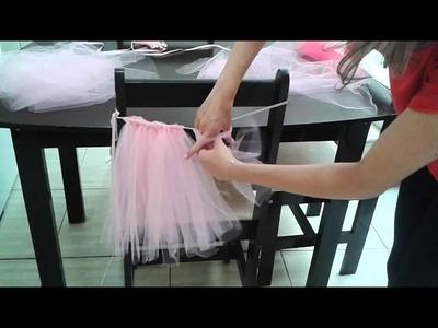 DIY; Como fazer tutu de Ballet !
