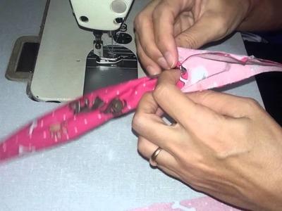 Turbante com elástico Mania de Costura