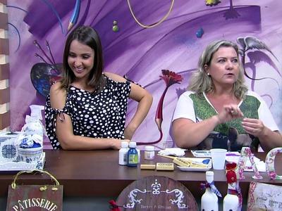 Mulher.com - 30.11.2015 - Técnica de imitação de louça Portuguesa - Angelina Couto PT2