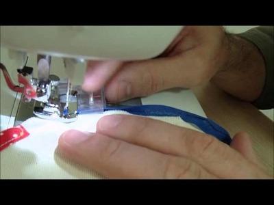 Calcador para viés costurando em curva - FADIMEX
