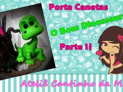 DIY Porta caneta   O bom dinossauro parte II