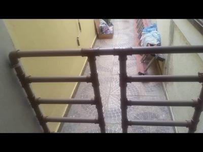 Portão de tubo de PVC