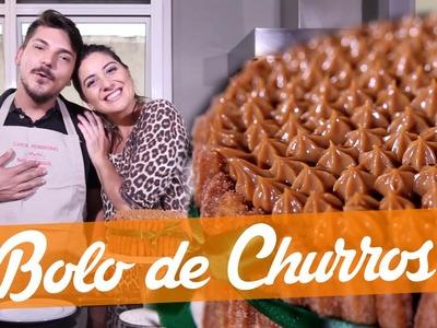 Bolo de Churros - Carol Fiorentino e Matheus - receita Bake Off Brasil