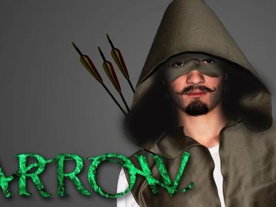 Como Fazer o Capuz de Arrow - Cosplay Arqueiro Verde