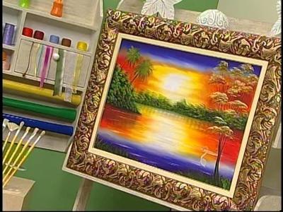 Programa Arte Brasil - 14.01.14 - Augusto Aguirras - Pintura em tela por do sol