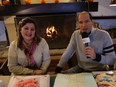 Ateliê na TV - Rede Brasil - 27.07.16 - Maura Castro e Marcia Betschart