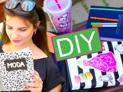 DIY Volta às Aulas: Customize seus Cadernos!