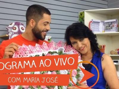 Programa Ao Vivo com Maria José | Vitrine do Artesanato na TV