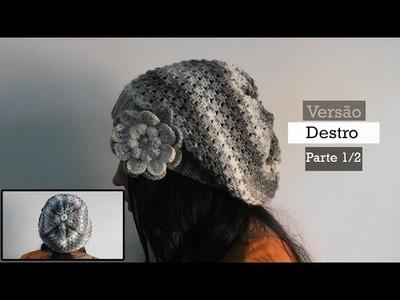 [Versão Destro] Boina Batik Parte 1.2