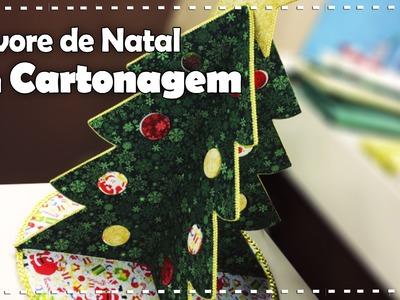 ARVORE DE NATAL EM CARTONAGEM com Ane Matos - Programa Arte Brasil - 12.09.2016