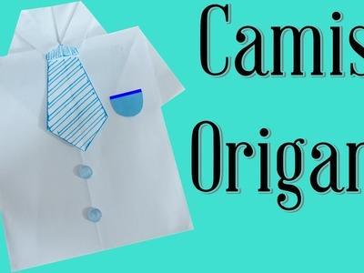 Camisa Origami dia dos pais