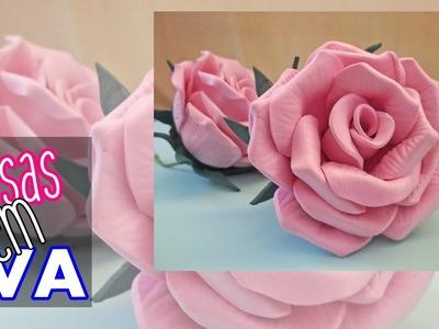 Rosas em EVA | SEM MODELADOR