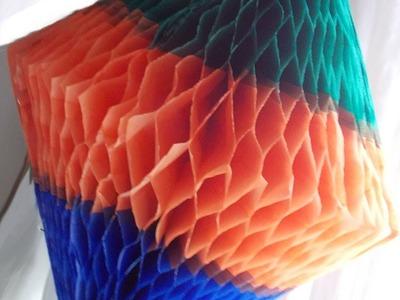 Como fazer balão para festa junina com cores horizontais