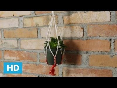 Como fazer um Pendurador de Vasos