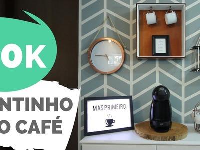 DIY | 20 mil + renovando o cantinho do café  | Por GavetaMix