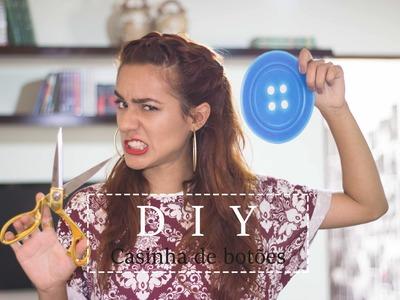 DIY - Casinha de botões feita à mão