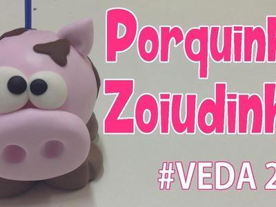 DIY - Porquinho Zoiudinho - Sah Passa o Passo #VEDA 29