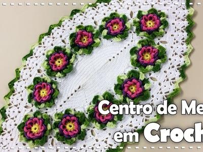 CENTRO DE MESA FLORIDO com Maria José - Programa Arte Brasil - 06.10.2016