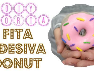 DIY DONUT - Porta Fita Adesiva | Larissa Vale