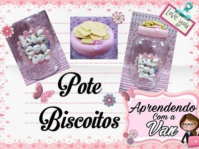 (DIY) Pote Biscoitos (Maratona de Potes #15)