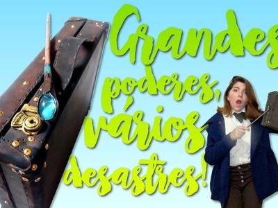 Especial Animais Fantásticos (Maleta + Varinha inspirada)   DIY GEEK #40