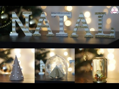 DIY 4 ideias para decoração de Natal - Natal no Clube da Aninha
