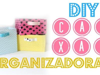 DIY Como Fazer Caixas Organizadoras | Larissa Vale
