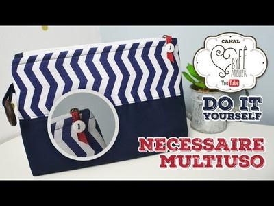 DIY::: Necessaire Multiuso - By Fê Atelier