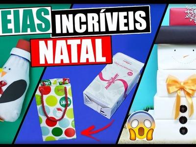 DIY Especial Natal #2: IDEIAS INCRÍVEIS DO LIXO AO LUXO