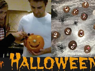 #DIY: Como fazer abóbora de Halloween e Spooky Brigadeiros!