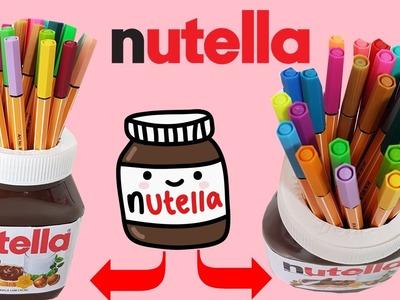 DIY |  Ideia usando pote de Nutella
