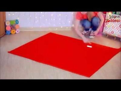 Como fazer almofada gigante de coca-cola