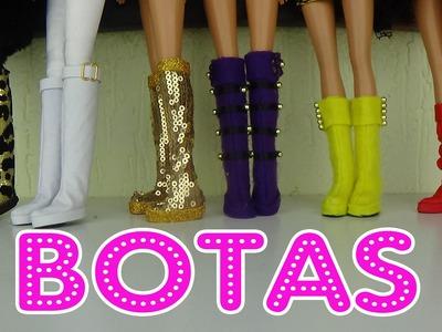 Como fazer botas para bonecas