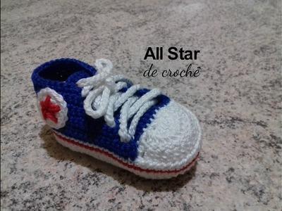 All Star de crochê